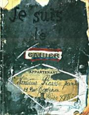 Cover of: Je Suis Le Cahier: the sketchbooks of Picasso