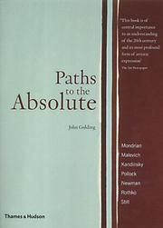 Cover of: Paths to the Absolute (Broadview Literary Texts)
