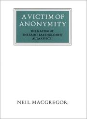Cover of: A victim of anonymity | Neil MacGregor