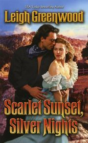 Cover of: Scarlet Sunset, Silver Nights