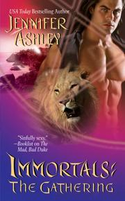Cover of: The Gathering (Immortals, Book 4) by Jennifer Ashley