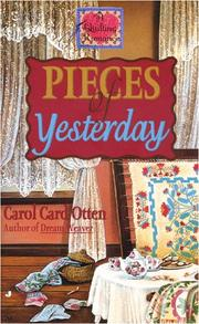 Cover of: Pieces of Yesterday | Carol Card Otten
