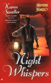Cover of: Night Whispers (Haunting Hearts Romance Series)