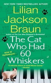 Cover of: The Cat Who Had 60 Whiskers (The Cat Who)