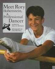 Cover of: Meet Rory Hohenstein, a professional dancer