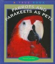 Cover of: Parrots and Parakeets As Pets