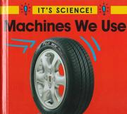 Cover of: Machines we use