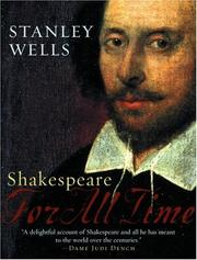 Cover of: Shakespeare | Stanley W. Wells
