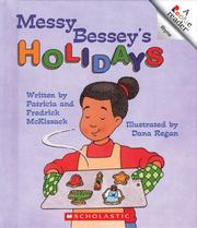 Cover of: Messy Bessey's holidays