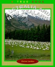 Cover of: Australia and New Zealand