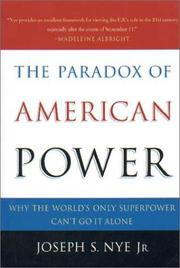 Cover of: The Paradox of American Power