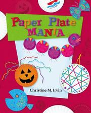 Cover of: Paper Plate Mania (Craft Mania) |