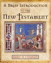 Cover of: A Brief Introduction to the New Testament