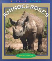 Cover of: Rhinoceroses (True Books) |