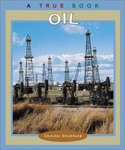 Cover of: Oil (True Books) |