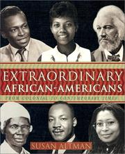 Cover of: Extraordinary African-Americans
