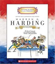 Cover of: Warren G. Harding (Getting to Know the Us Presidents) | Mike Venezia