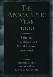 Cover of: The Apocalyptic Year 1000 |
