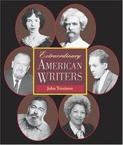 Cover of: Extraordinary American writers | John Tessitore
