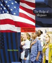 Cover of: The Pledge of Allegiance | Christine Webster