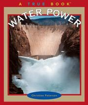 Cover of: Water power | Christine Petersen