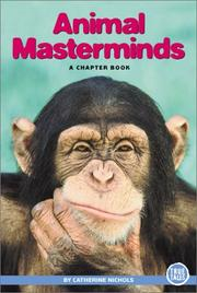 Cover of: Animal Masterminds | Catherine Nichols
