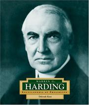 Cover of: Warren G. Harding: America's 29th president