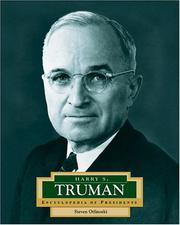 Cover of: Harry S. Truman | Steven Otfinoski