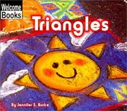 Cover of: Triangles (Welcome Books) | Jennifer S. Burke
