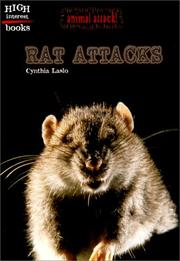 Cover of: Rat Attacks (Animal Attack) by Cynthia Laslo