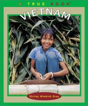 Cover of: Vietnam | Shirley W. Gray