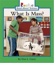 Cover of: What Is Mass?