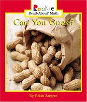Can You Guess? (Rookie Read-About Math)