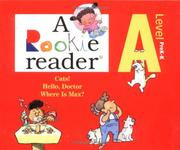 Cover of: A Rookie Reader | Larry Dane Brimmer