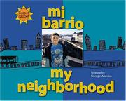 Cover of: Mi barrio =