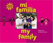 Cover of: Mi familia =