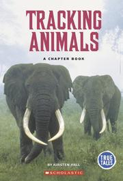Cover of: Tracking animals
