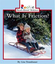Cover of: What Is Friction?