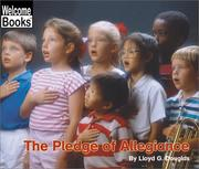 Cover of: The Pledge of Allegiance (Welcome Books) | Lloyd G. Douglas