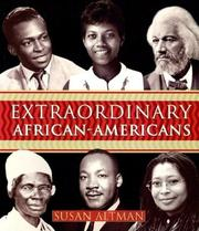 Cover of: Extraordinary African-Americans | Susan Altman