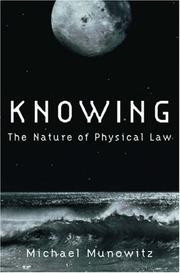 Cover of: Knowing | Michael Munowitz