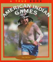 Cover of: American Indian Games