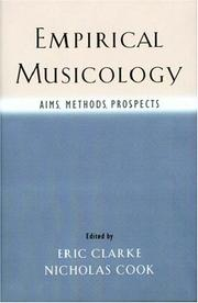 Cover of: Empirical Musicology |