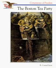 Cover of: The Boston Tea Party (Cornerstones of Freedom)
