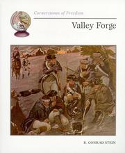 Cover of: Valley Forge (Cornerstones of Freedom)