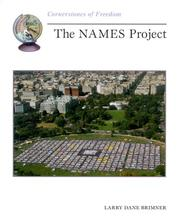 Cover of: The Names Project (Cornerstones of Freedom)
