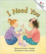 Cover of: I Need You | Patricia J. Murphy