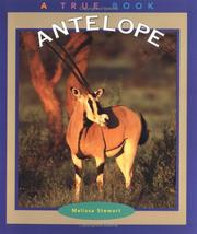 Cover of: Antelope