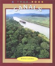 Cover of: Canals (True Books : Buildings and Structures) | Elaine Landau