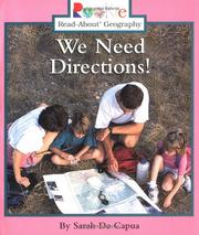 Cover of: We Need Directions!